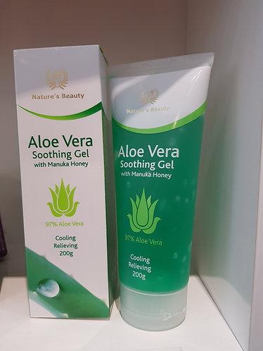 Nature's Beauty Aloe Vera Soothing Gel 네이쳐스뷰티 알로에 수딩젤 200g