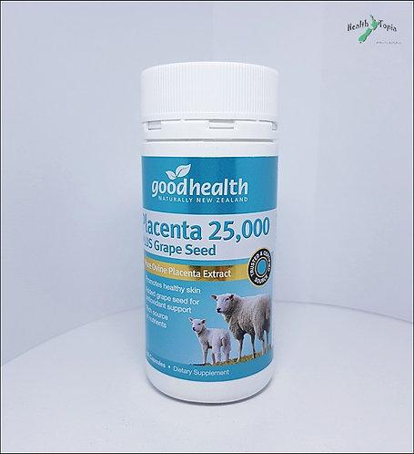 Good Health Placenta 25000+Grape Seed굿헬스 양태반+포도씨 60c <32,000>