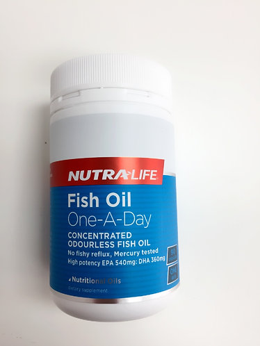 [Nutra-Life] Fish Oil 1-A-Day1500mg 뉴트라라이프 피쉬오일 90c <32,000>