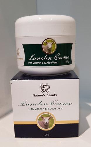 Nature's Beauty Lanolin Creme 네이쳐스뷰티 라놀린 크림 100g