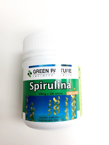 [Green Pasture] Organic Spirulina  그린파스쳐 유기농 스피루리나 200t <20,000>