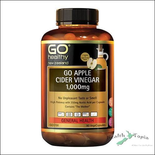 Go Healthy Apple Cider Vinegar 사과식초 1000mg 60캡슐<2먄원>