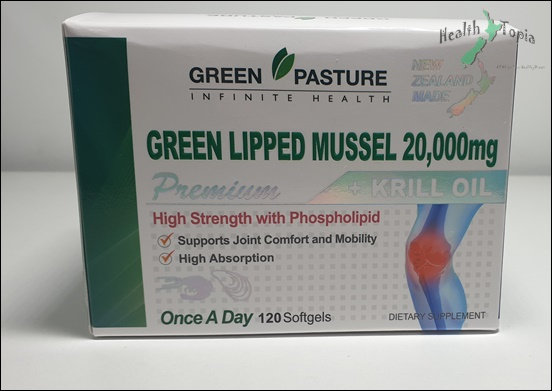 [Green Pasture] Green Lipped Mussel 20000 <180,000>