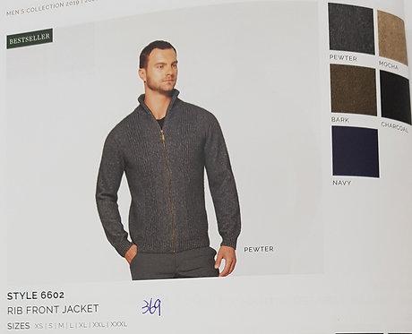 Style 6602 Rib Front Jacket