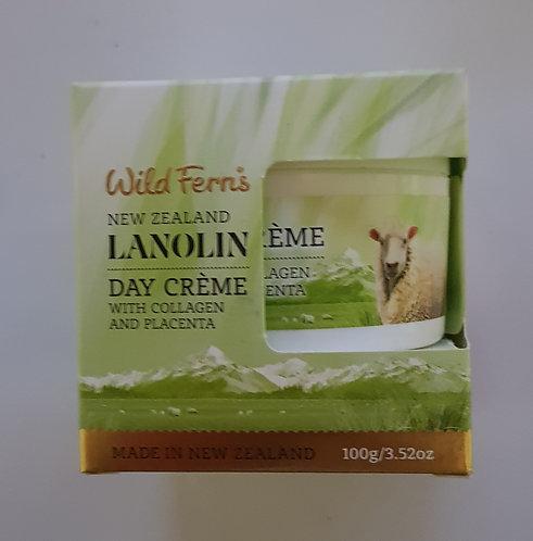 [Parrs] Wild Ferns Lanolin Day Creme 와일드펀스 라놀린 데이크림(콜라겐+태반) 100g