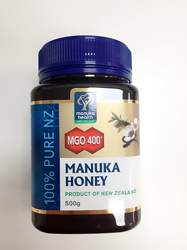 [Manuka Health] Manuka Honey MGO 400+(500g/250g)<78,000/40,000>