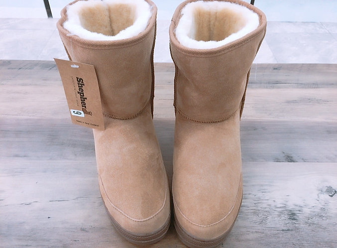 [Shepherd] Wool Half Boots
