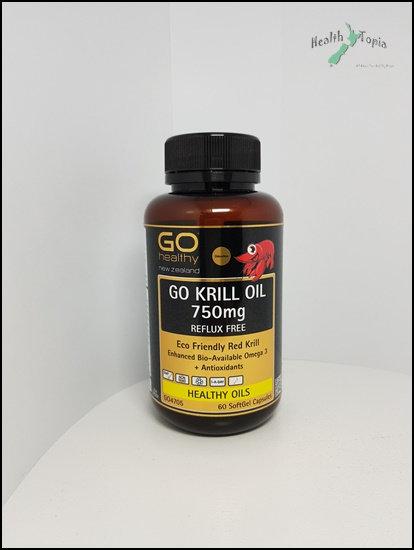 Go Healthy Krill Oil고헬시 크릴오일 750mg 60c<36,000>