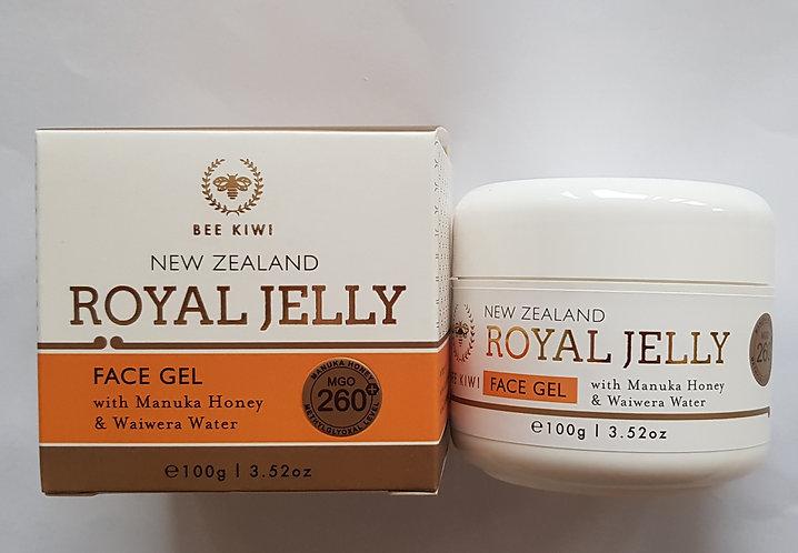 Nature's Beauty Bee kiwi Royal Jelly Face Gel 네이쳐스뷰티 비키위 로얄젤리 페이스젤 100g