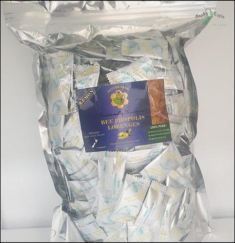 Nature Care Propolis Lozenges 250g, 500g, 1kg 목캔디레몬맛 <32,000/50,000/76,000>>