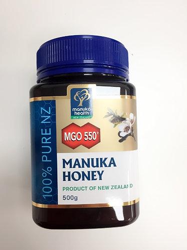 [Manuka Health] Manuka Honey MGO 550+(500g/250g)<117,000/60,000>>