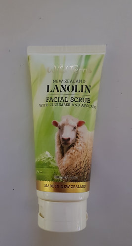 [Parrs] Wild Ferns Lanolin Facial Scrub 와일드펀스 라놀린 페이셜 스크럽 100ml