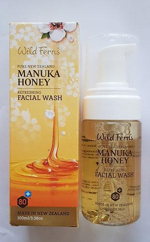[Parrs] Wild Ferns Manuka Honey Facial Wash 와일드펀스 마누카허니 페이셜워시 100ml