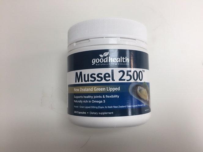 [Good Health] Mussel 2500mg 굿헬스 초록입홍합  300c<32,000>