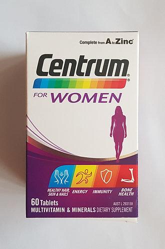 [Pfizer] Centrum for Women 여성용 센트룸 60t <25,000>