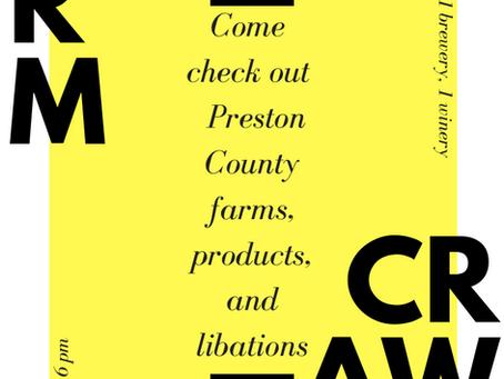 Preston County Farm Crawl - July 14
