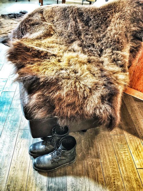 Female Bison Hide - Small