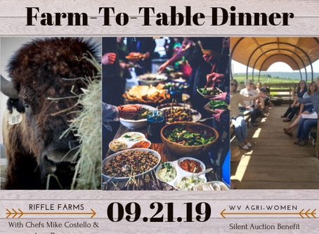 Farm-to-Table Dinner: Sept 21st