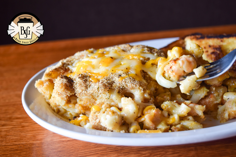 mac cheese shrimp special_