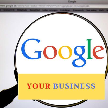 Google 'Google My Business'!