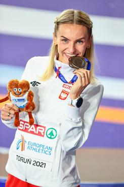 Podium 400m Women