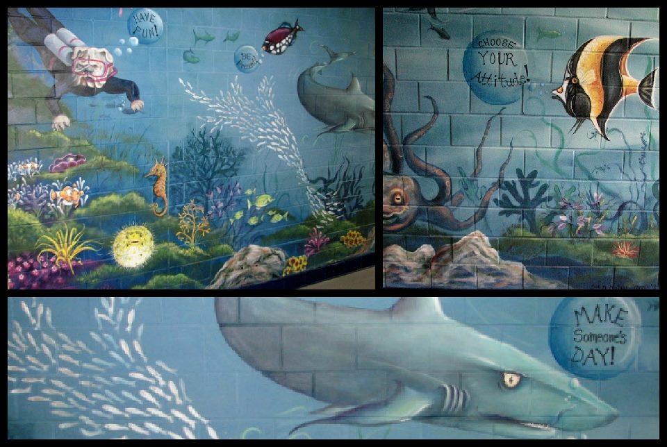 murals ocean
