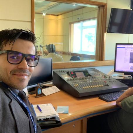 Entrevista na Rádio Catedral sobre Marketing Educacional