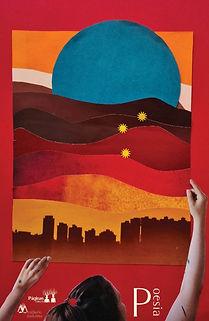 Capa da antologia Elas: Elas, a terra, as constelações