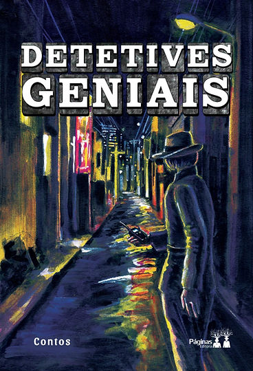 """Capa do livro """"Detetives Geniais"""""""