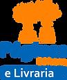 Logo Páginas Editora e Livraria