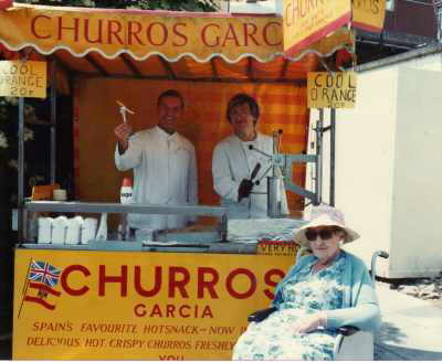 First Churros Garcia Stall