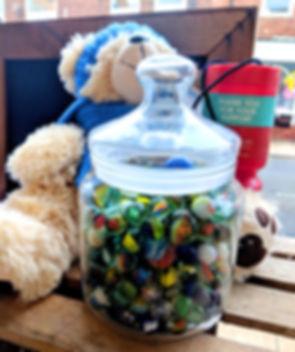 Myton Hospice Bear and Marbles - Peeli W