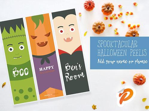 Custom Halloween Banners