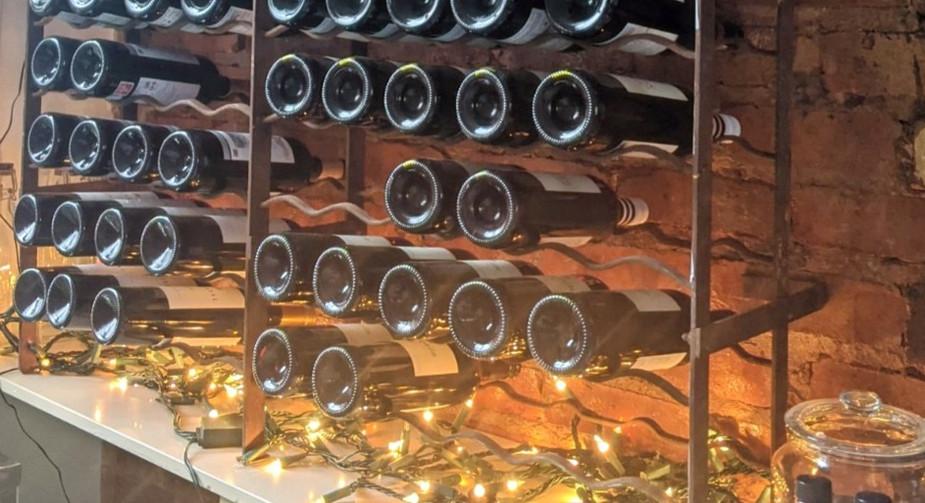 Ronnie's Bar Wine Rack