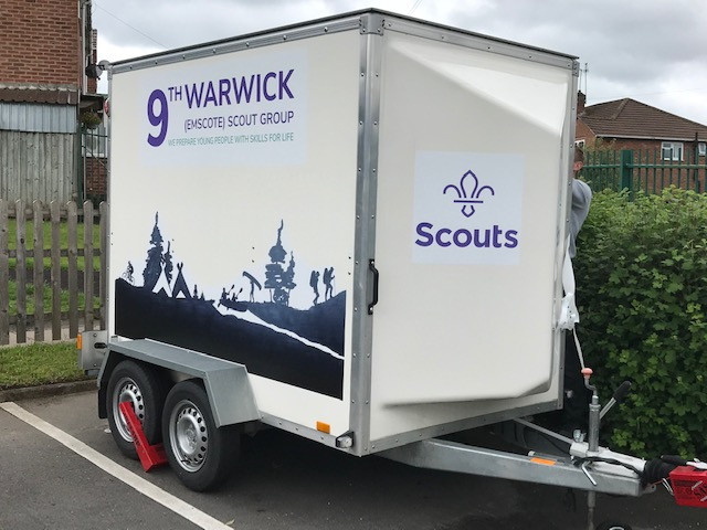 Scouts Trailer Decals