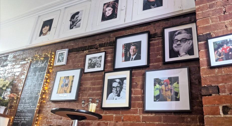 Ronnie's Bar Wall