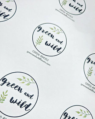 Green and Wild Peeli Stickers.jpg