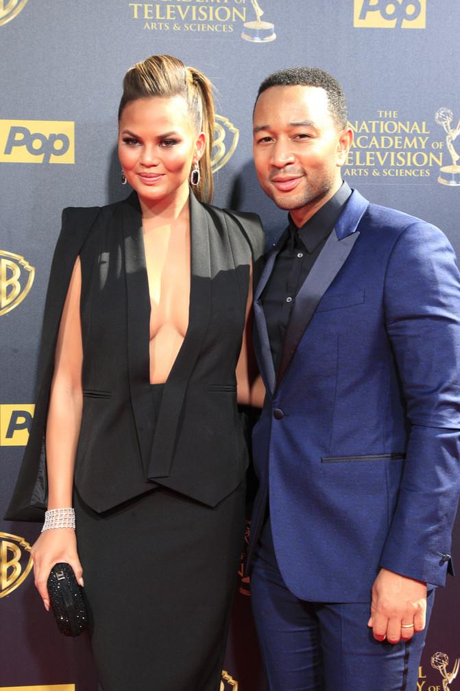 John Legend & Chrissy Teigen donate $200,000 to Time's Up