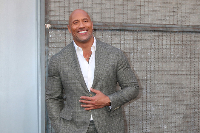 """The Rock Showed Off His Shredded Physique Before Filming A Shirtless """"Black Adam"""" Scene"""