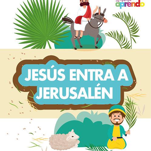Jesús entra a Jerusalén
