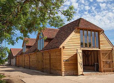 Traditional Large Oak Barn