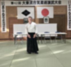 Oran Redmond Daito Ryu AikiJujutsu Japan