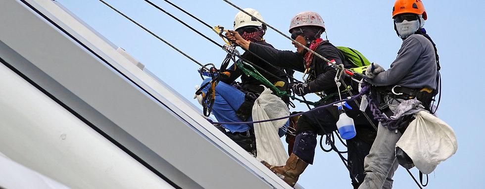 Sail Restitching und Reparatur