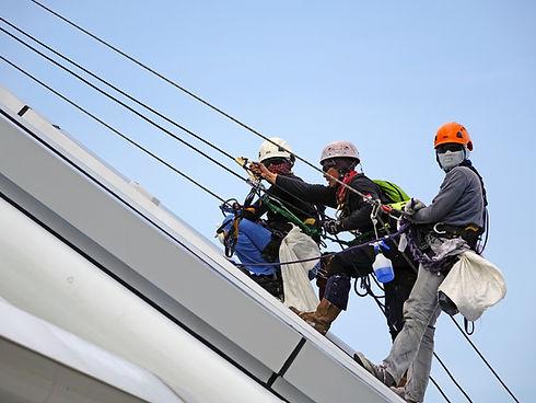 Sail Restitching and Repair