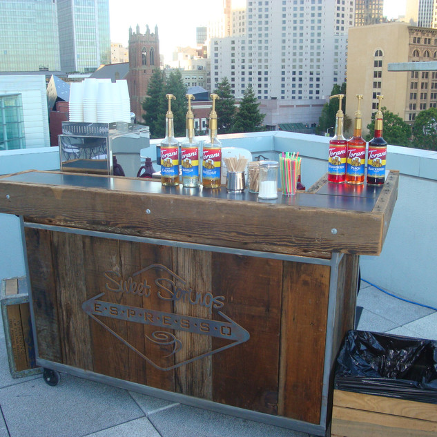 roof top sf bay area coffee cart