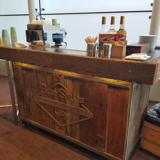 Coffee cart hotel