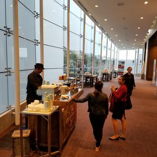 Hotel Barista coffee cart