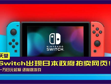 Switch出现日本政府拍卖网页