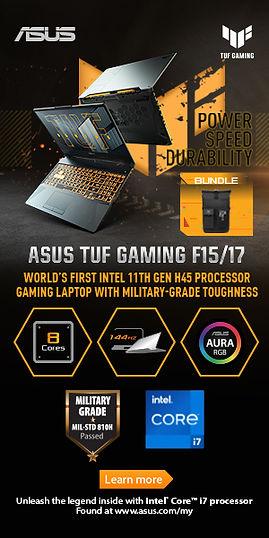 sus TUF Gaming F15/17