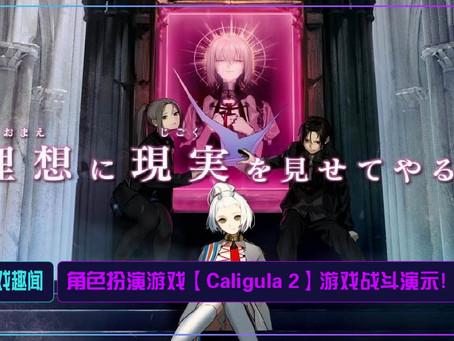 角色扮演游戏【Caligula 2】游戏战斗演示